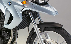 Motorcycles front forks